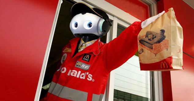 robot mcdonalds