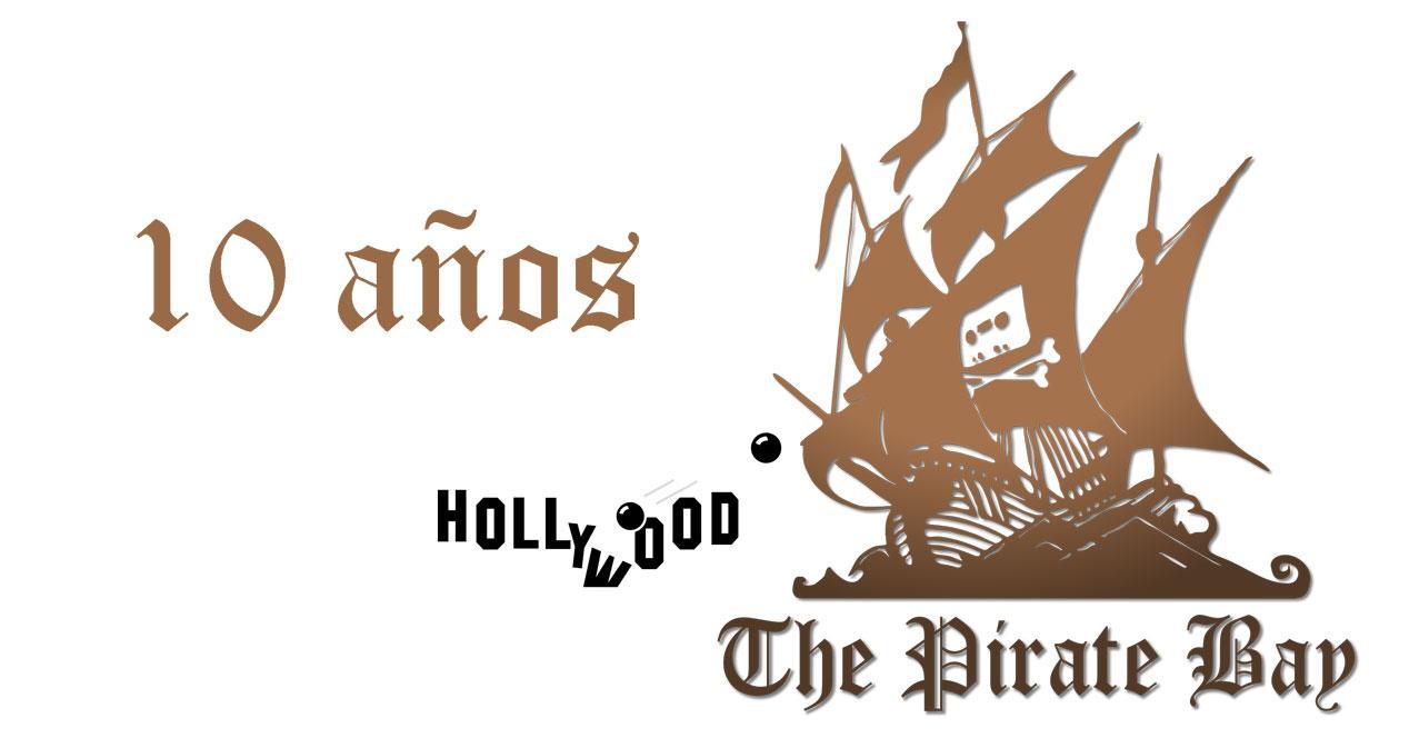 pirate bay 10 años