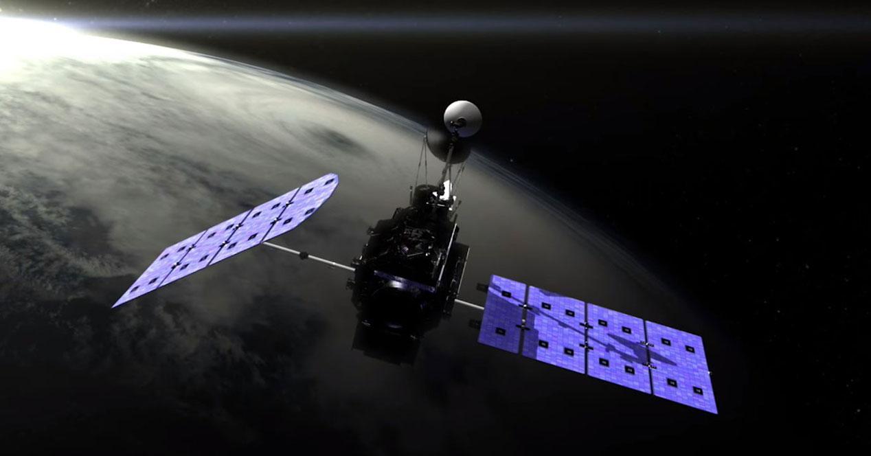 satelite NASA tiempo