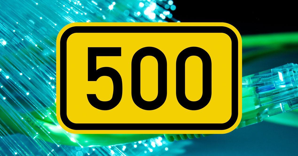 500 megas 500 Mbps