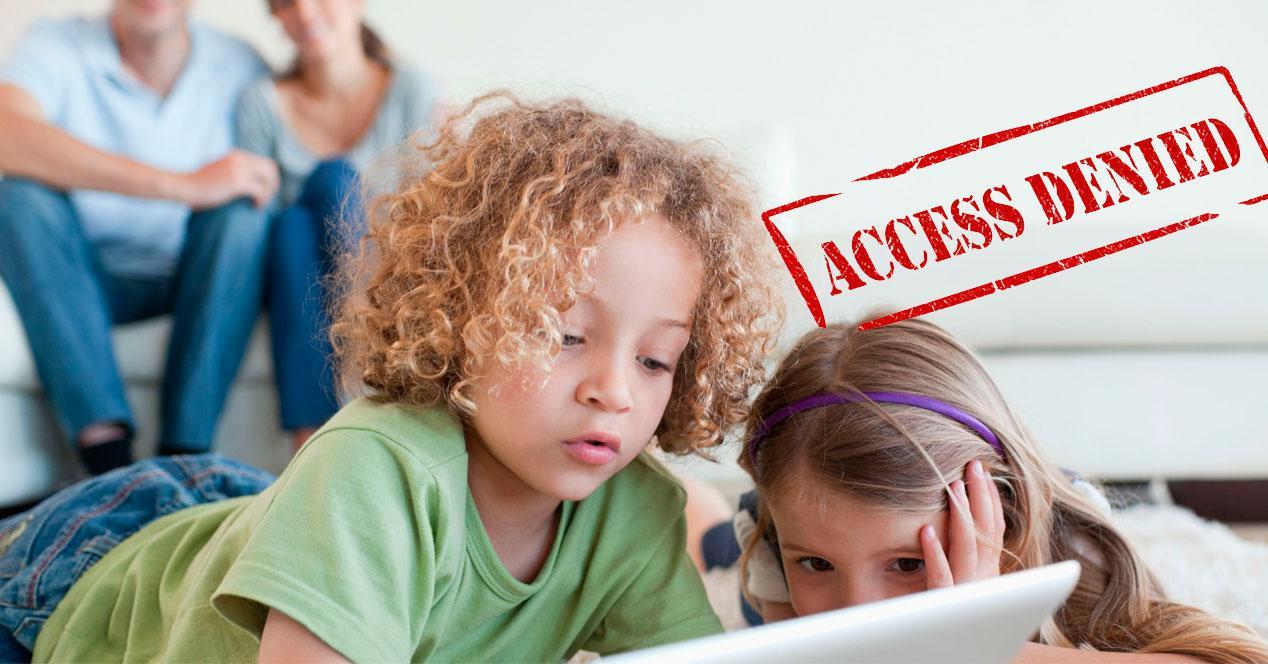 Bloquear acceso web