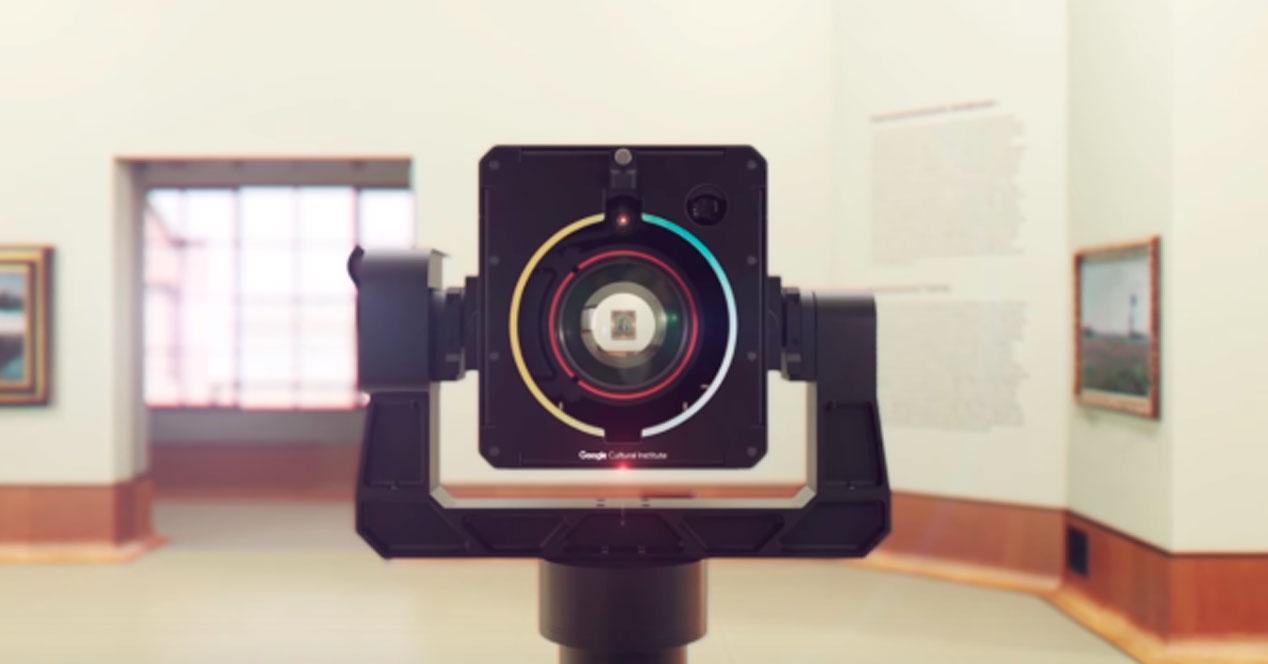 Art Camera, la cámara gigapíxel de Google para fotografiar obras de arte