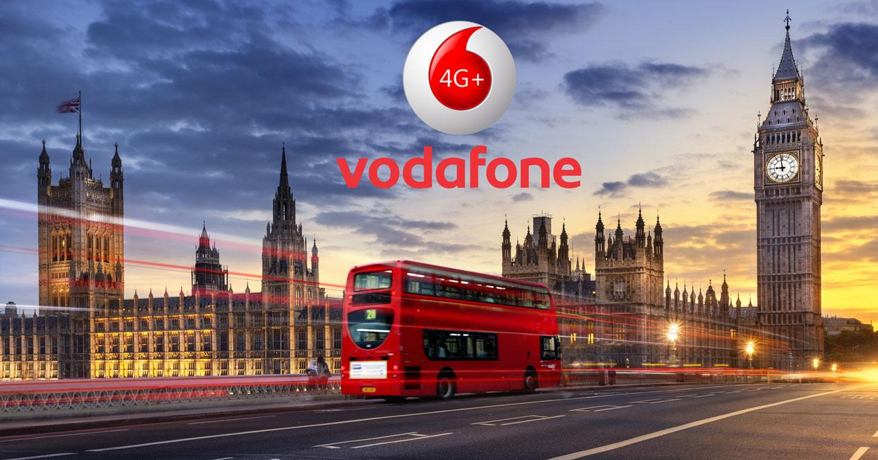 vodafone londres uk