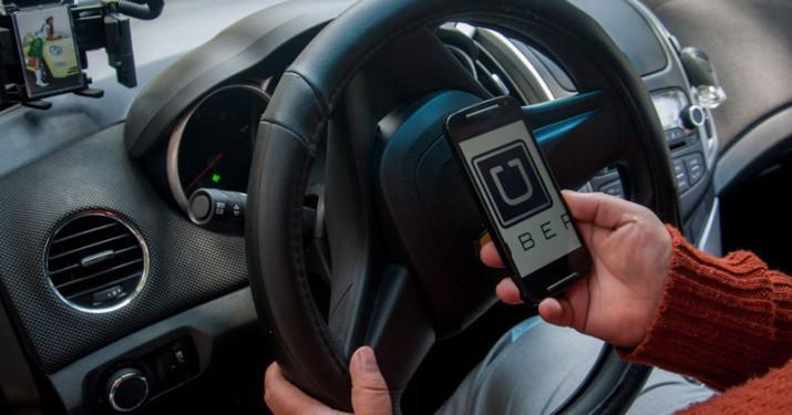 App del servicio de Uber