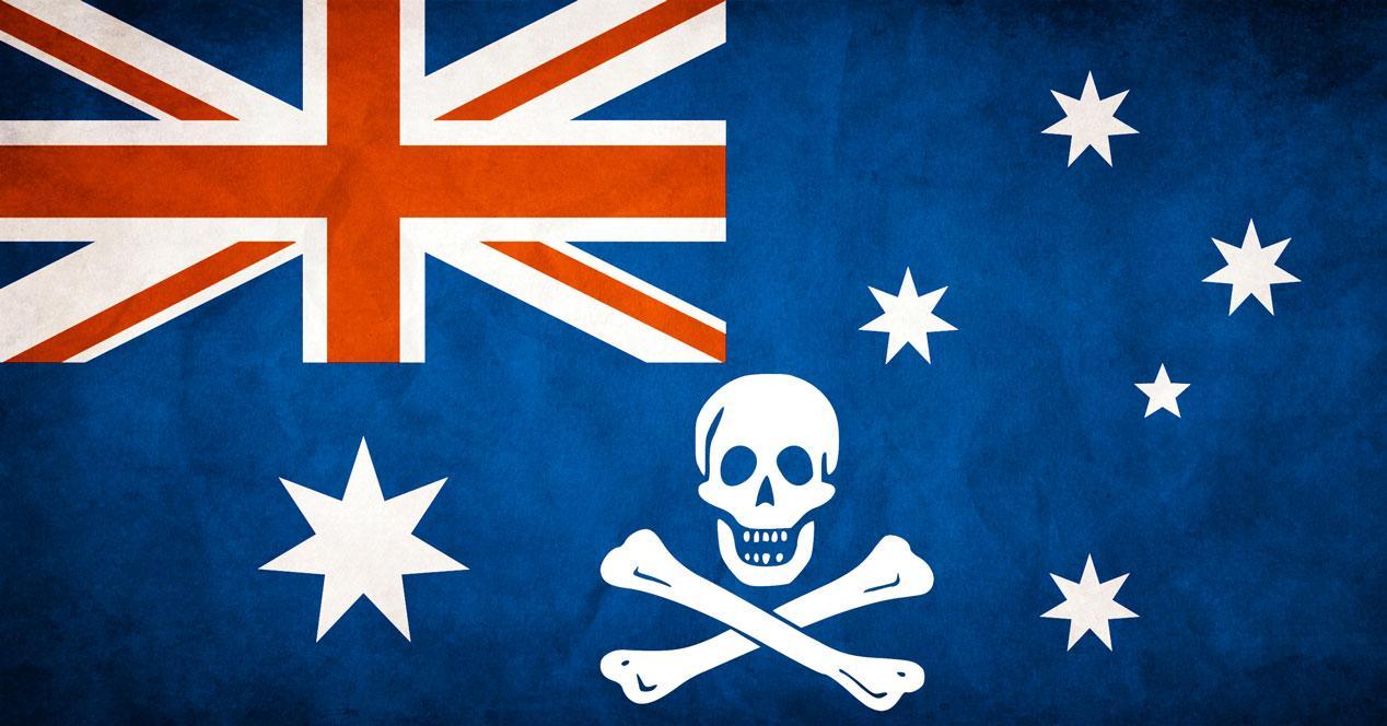 australia bandera pirata