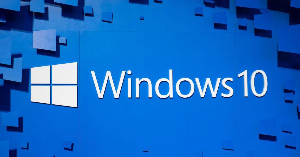 panel azul windows 10