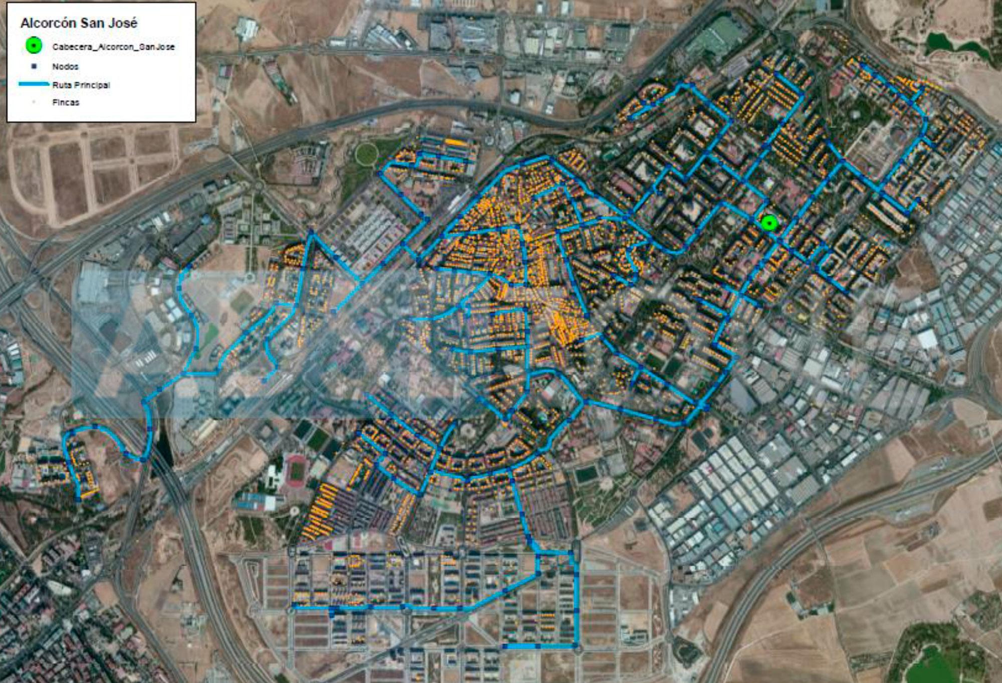 Mapa de cobertura de fibra ptica de m sm vil por ciudades - Orange en sevilla ...