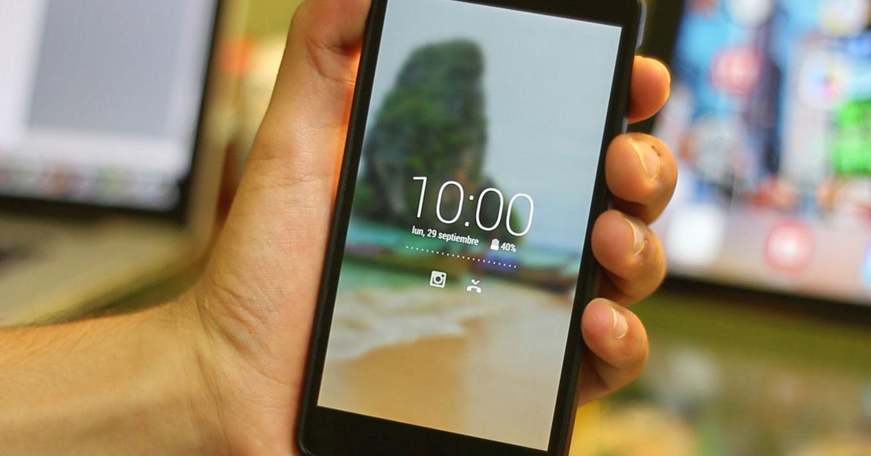 Bloqueo de pantalla en Android