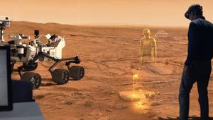 ¿Te imaginas caminar por Marte? Con la realidad aumentada, puedes