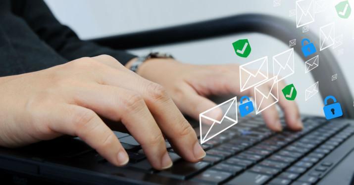 seguridad email candado