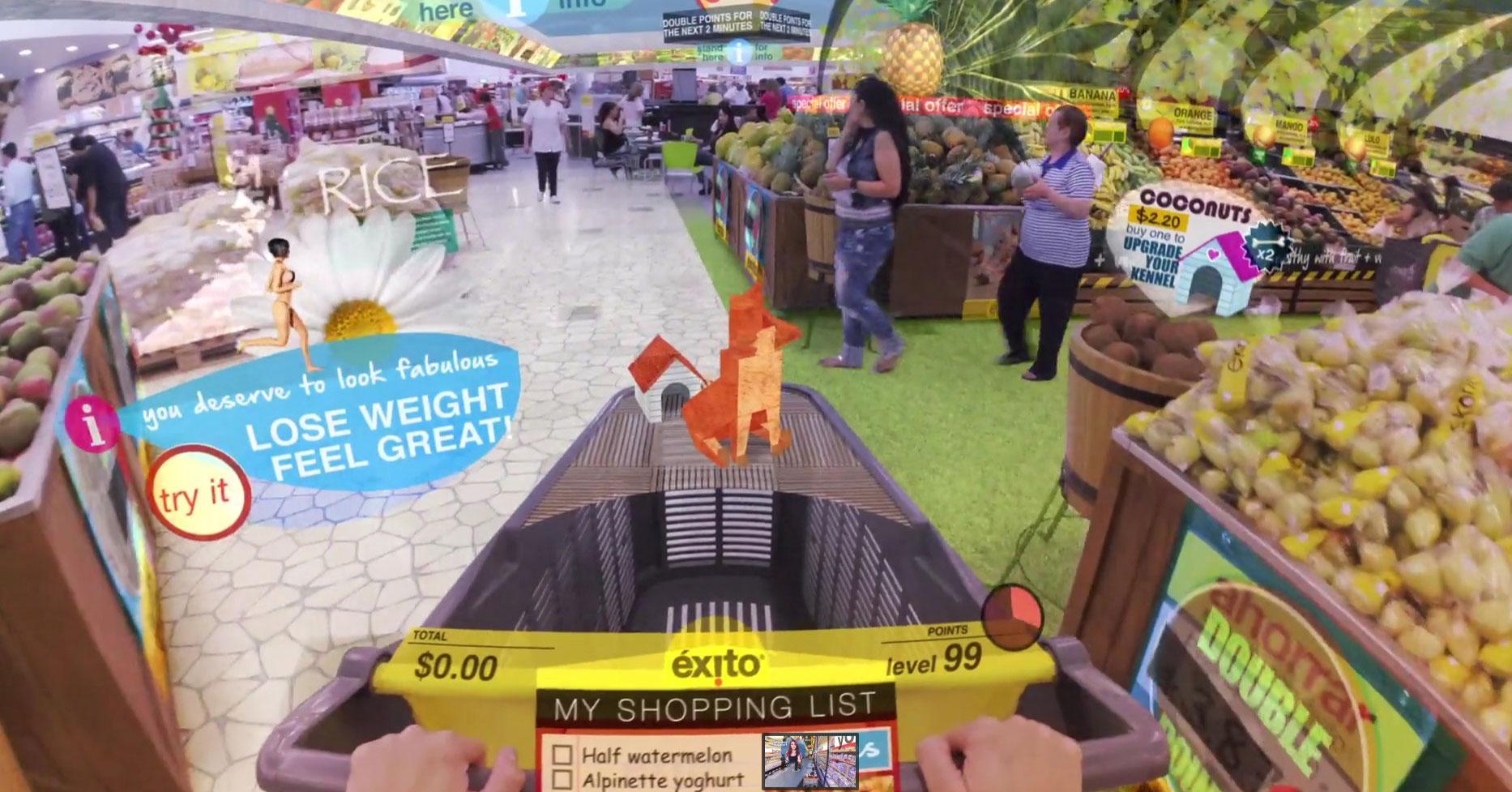 realidad aumentada supermercado futuro 2