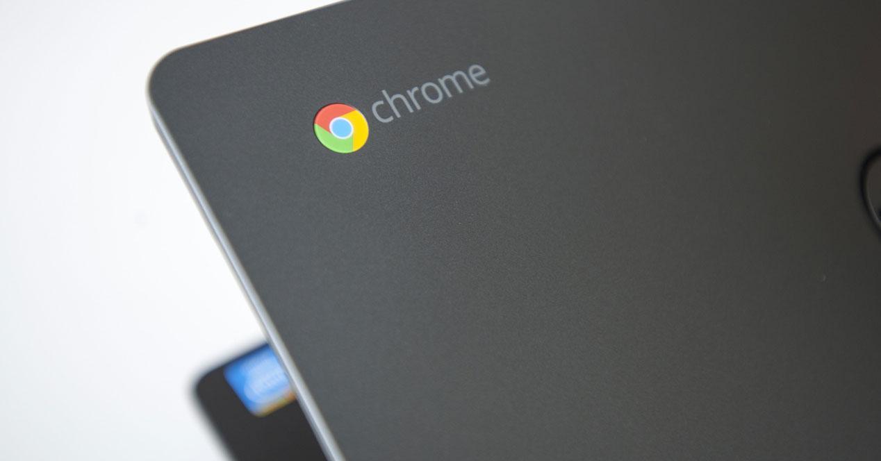 Pantalla de un Chromebook