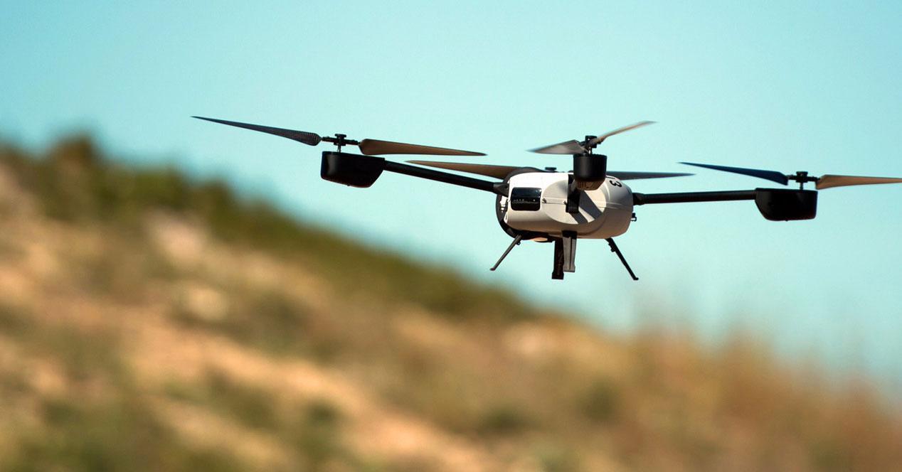 dron camara vigilancia