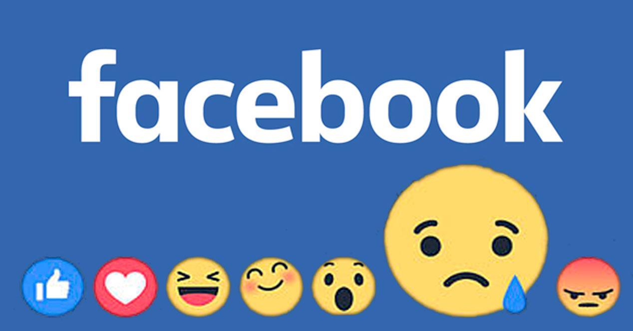 Emojis reacciones Facebook