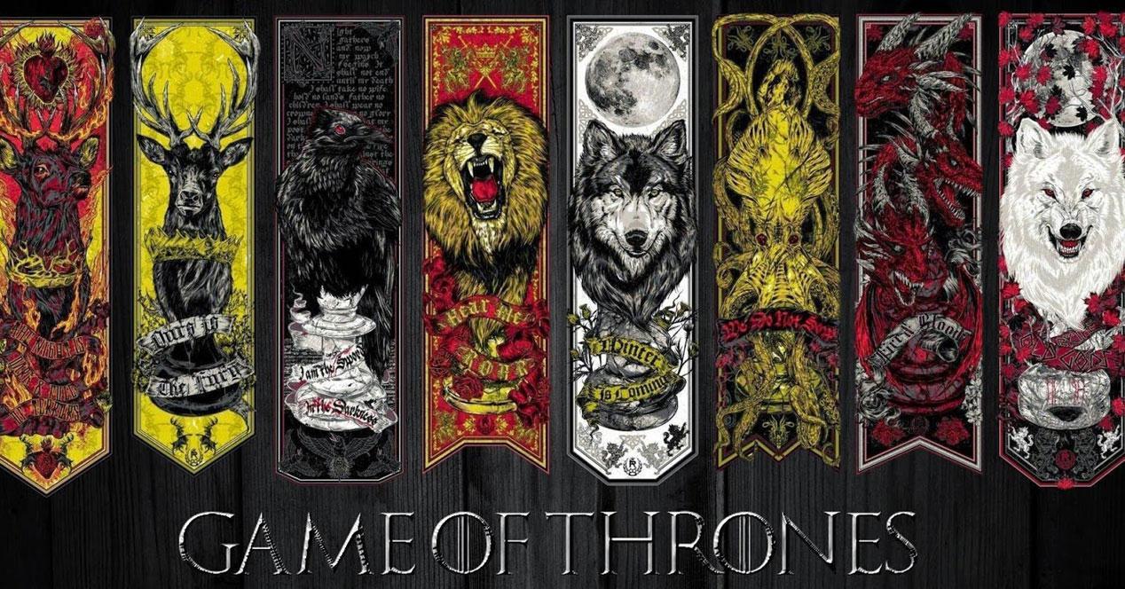 escudos de Juego de tronos