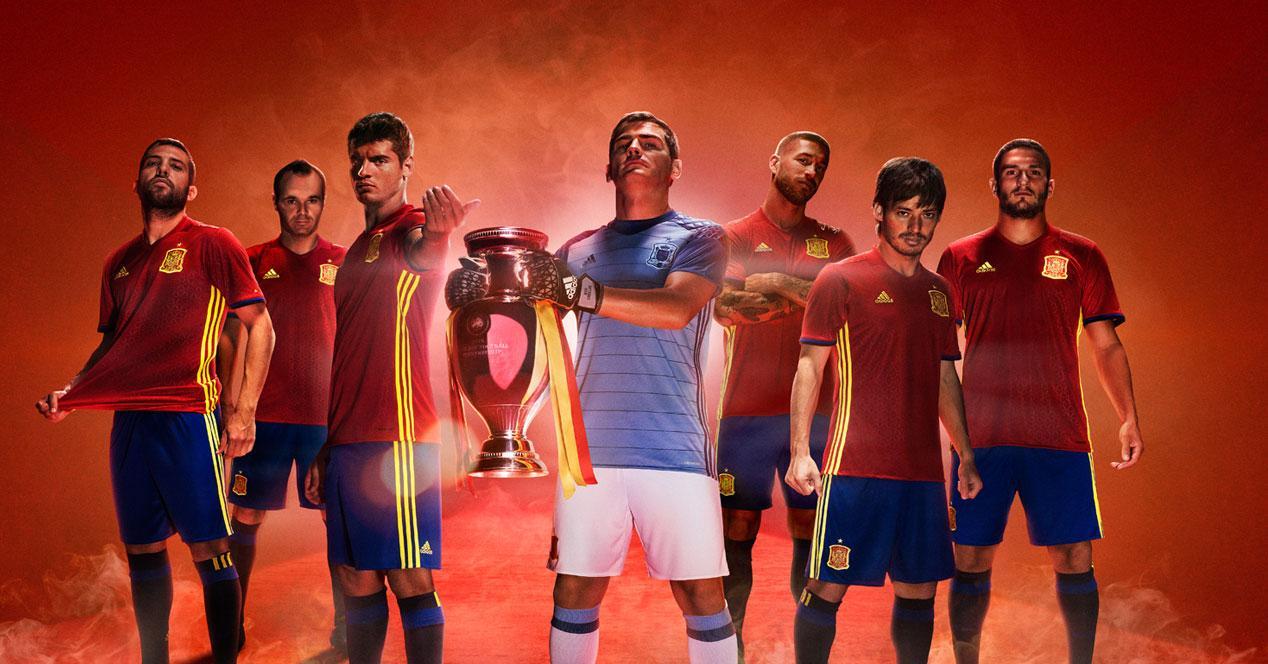 seleccion española euro 2016