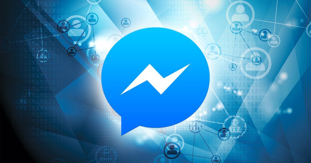 Logo de Facebook Messsenger