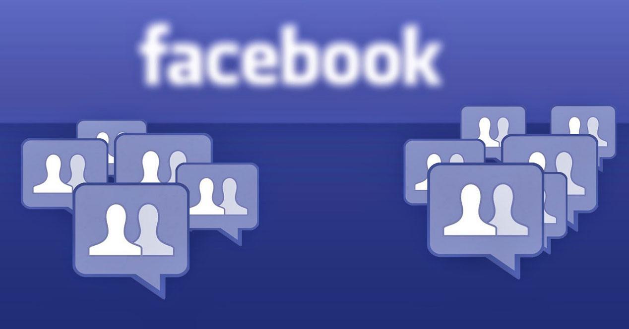 Grupos en Facebook