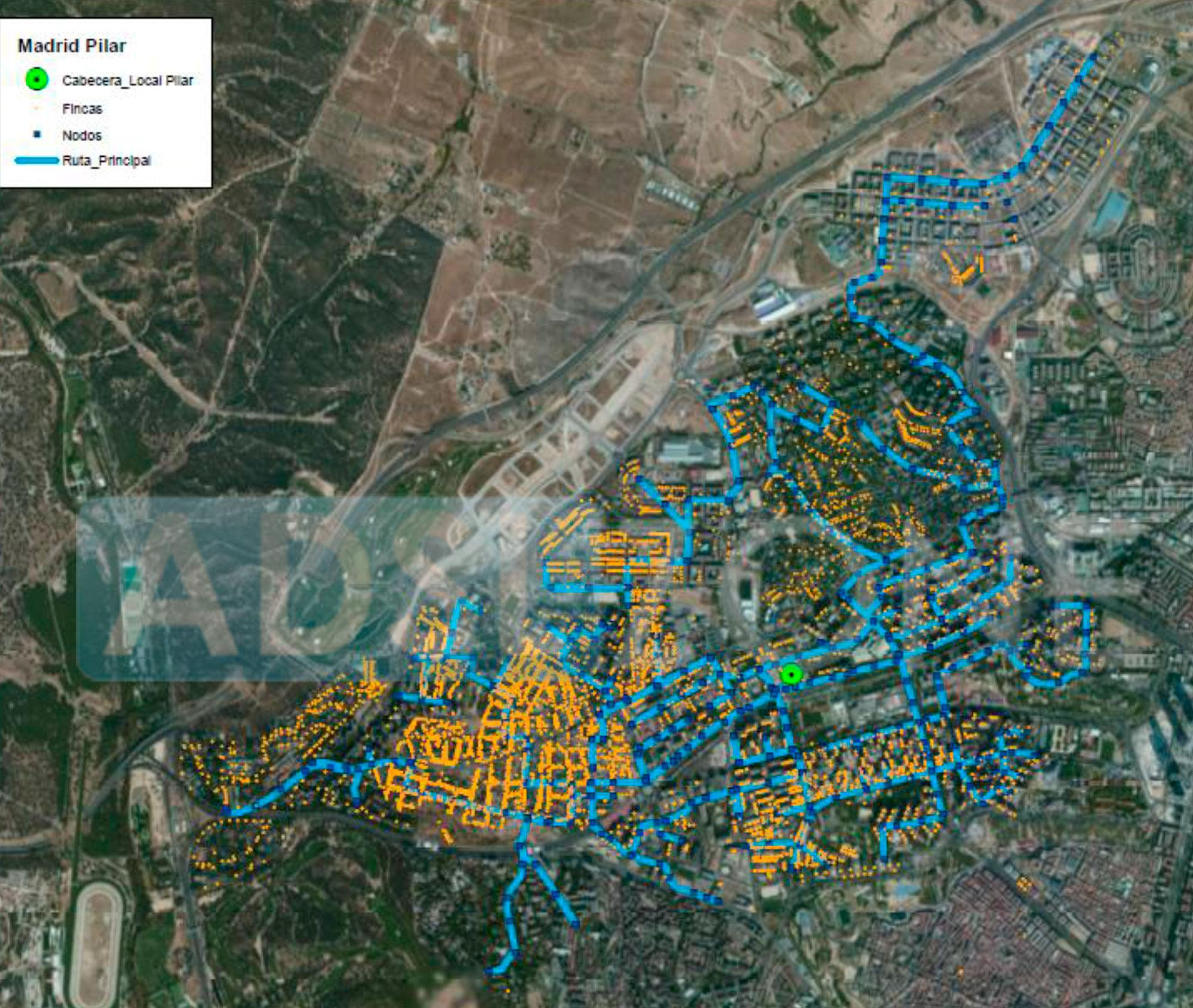 Mapa de cobertura de fibra ptica de m sm vil por ciudades for Fibra optica en benicasim