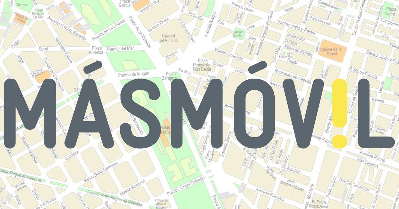 Mapa cobertura masMovil MásMóvil