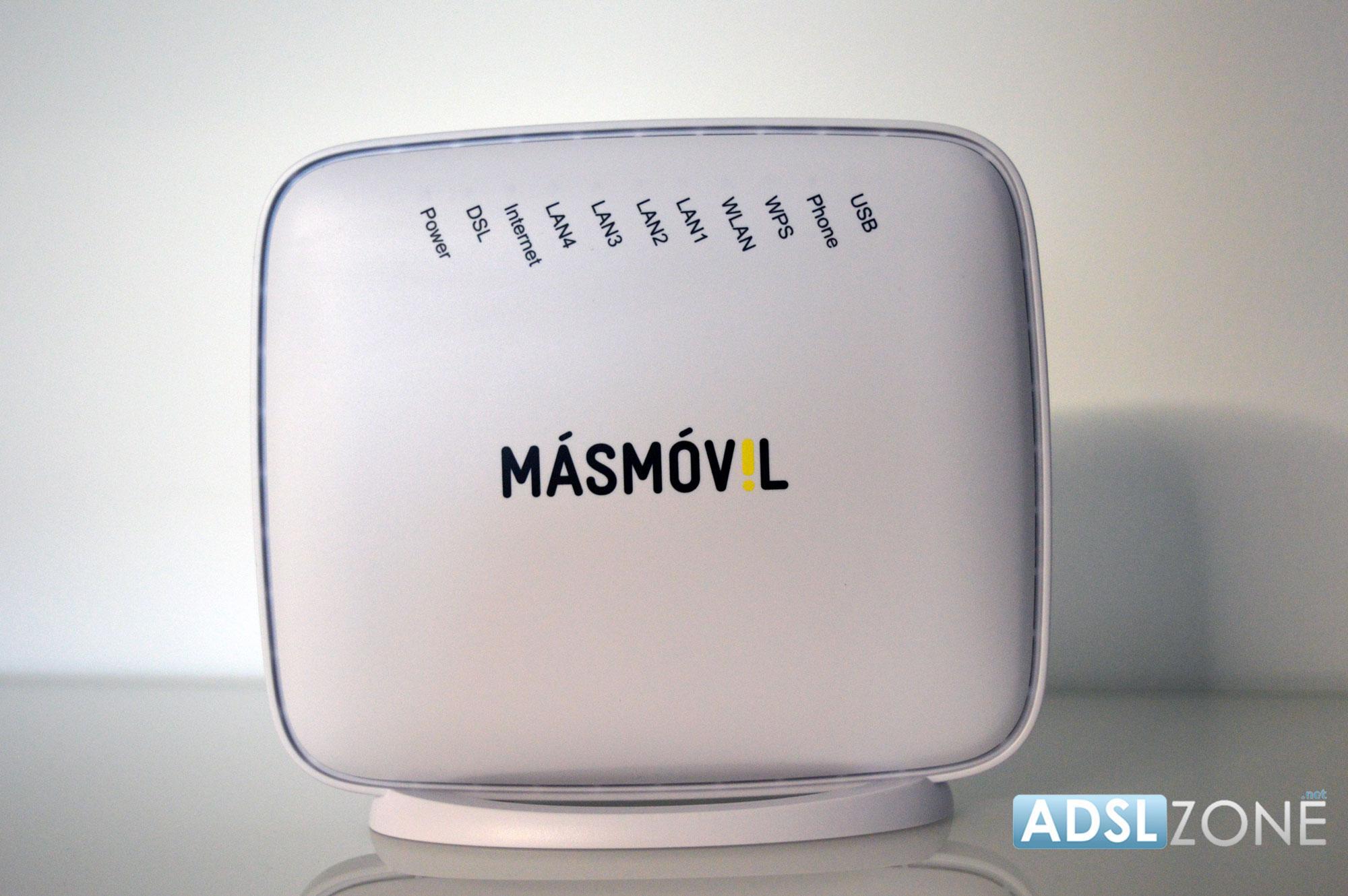 Router ZTEH208N de MásMovil