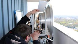 ¡Nuevo récord de velocidad inalámbrica! Un DVD en menos de 10 segundos a 37 km de distancia
