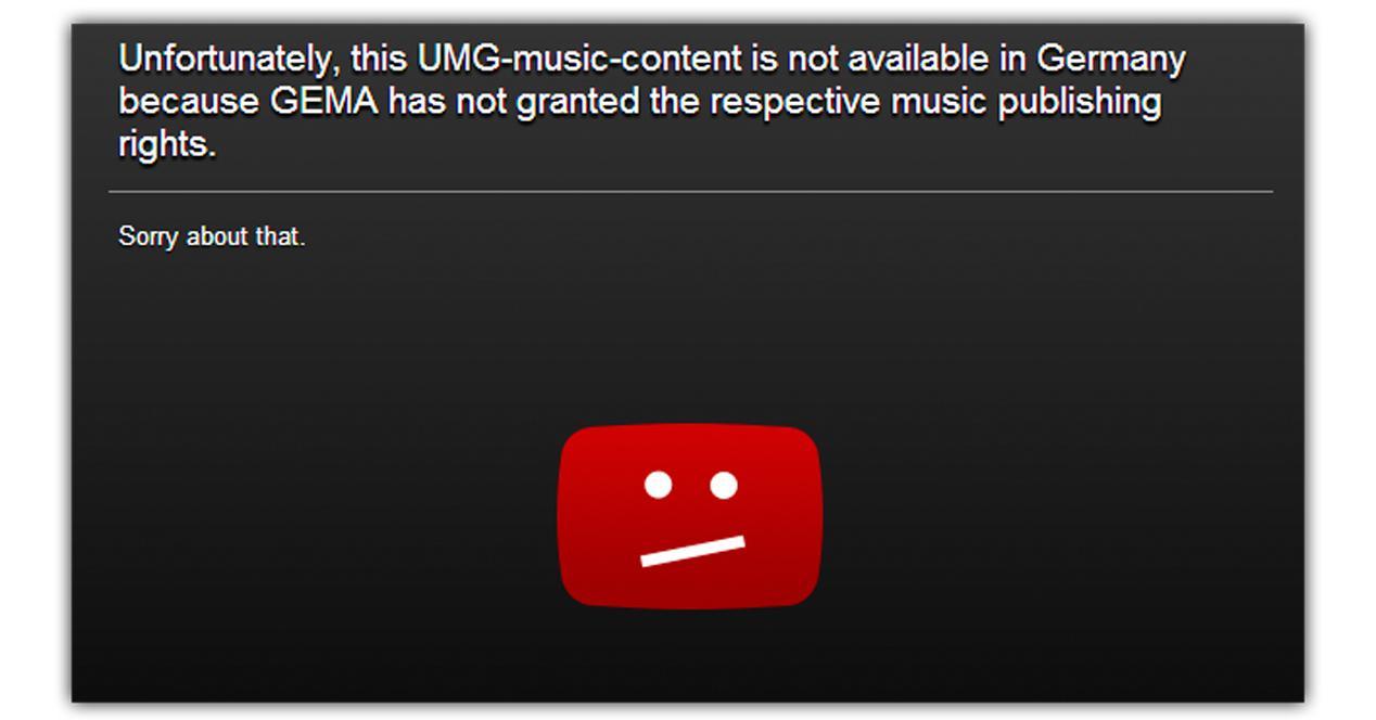 youtube bloqueado