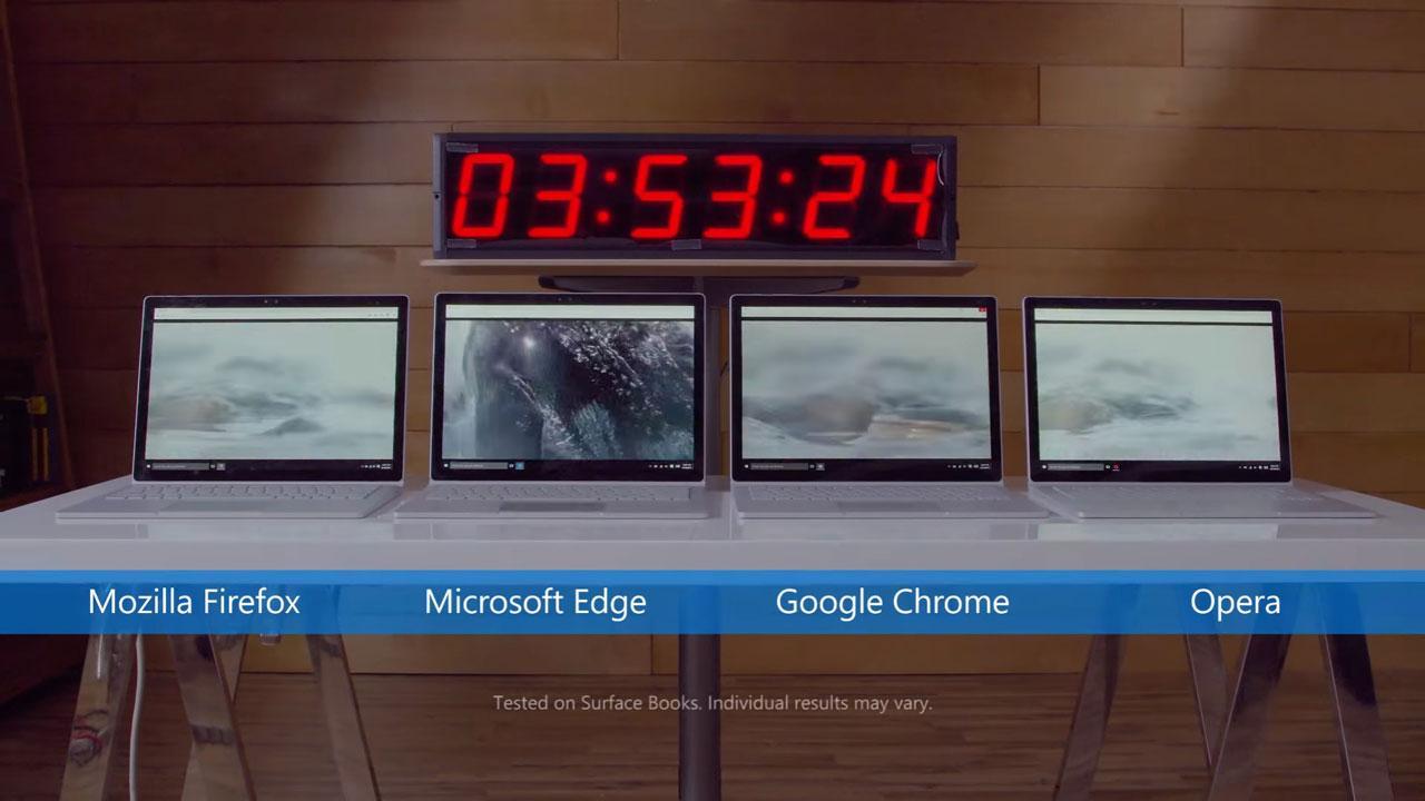 windows 10 edge consumo navegadores