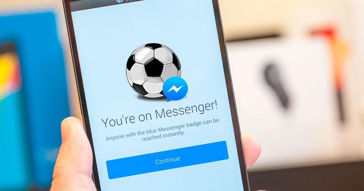 Facebook Messenger Futbol