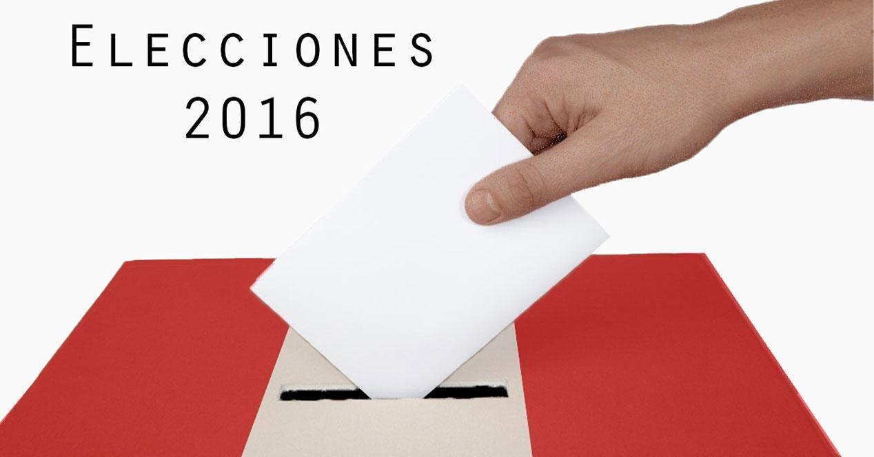 Elecciones 2016/26J