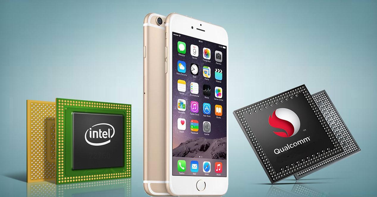 Intel y Qualcomm para iPhone 7