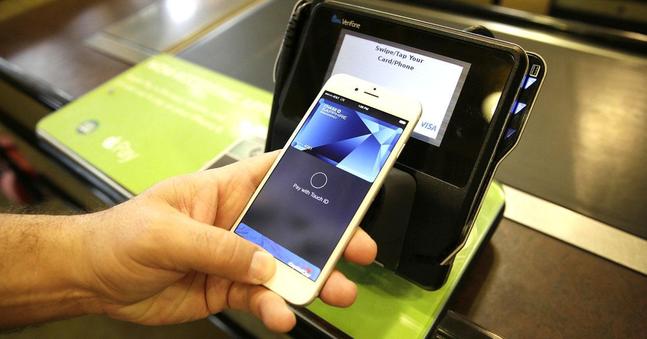 Pago por movil Apple Pay