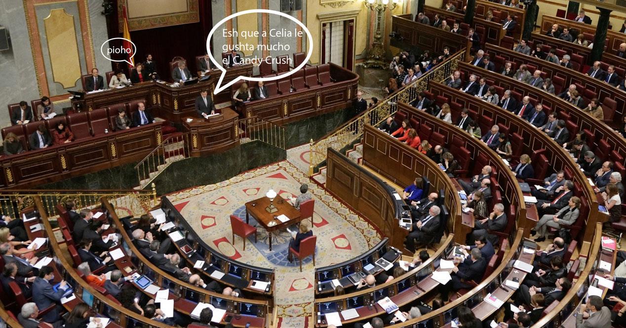 congreso diputados tabletas
