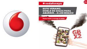 Vodafone también duplica los gigas a los clientes prepago