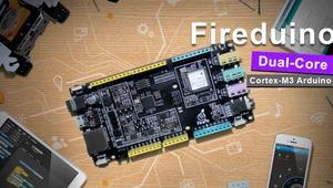 Fireduino, una placa Arduino dual-core con WiFi