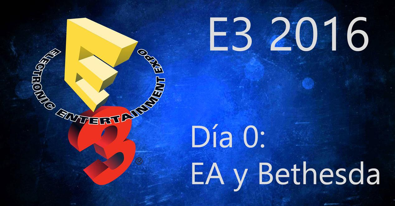 e3 2016 día 0