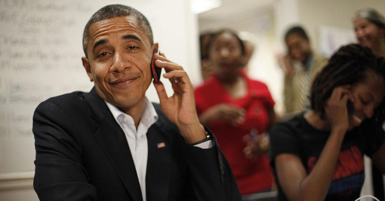 obama telefono movil