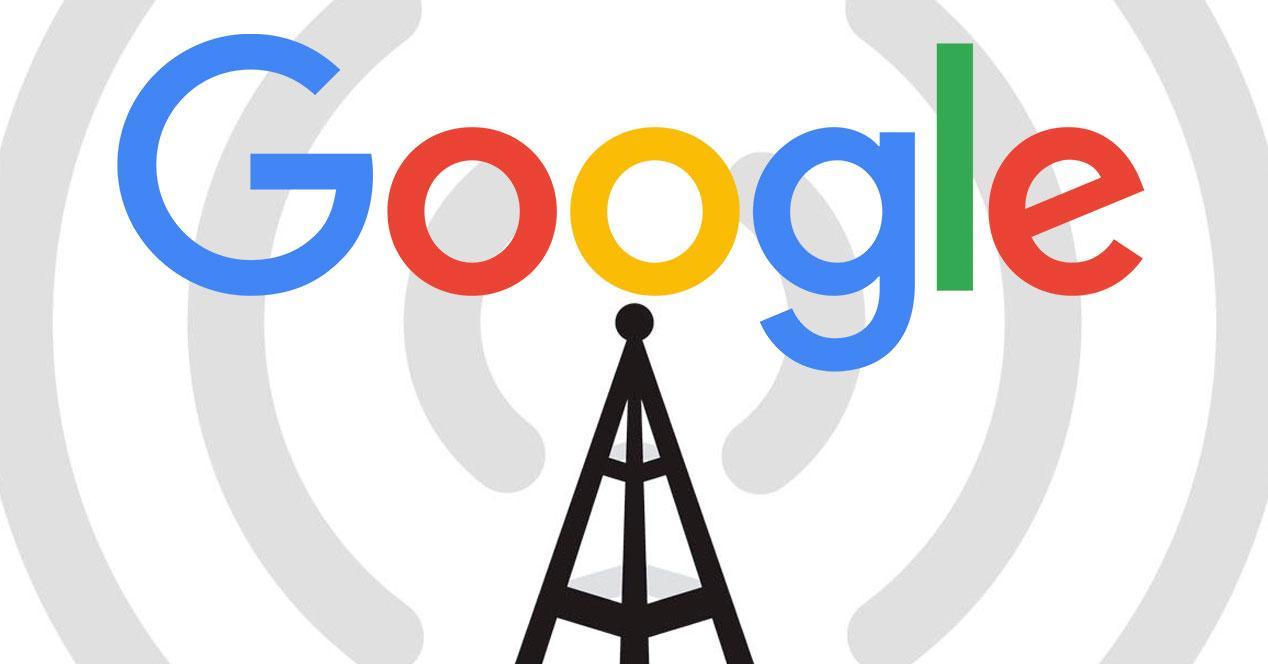 Internet alta velocidad inalámbrico Google