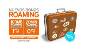 Simyo lanza ahora bonos de roaming desde 0,99 euros