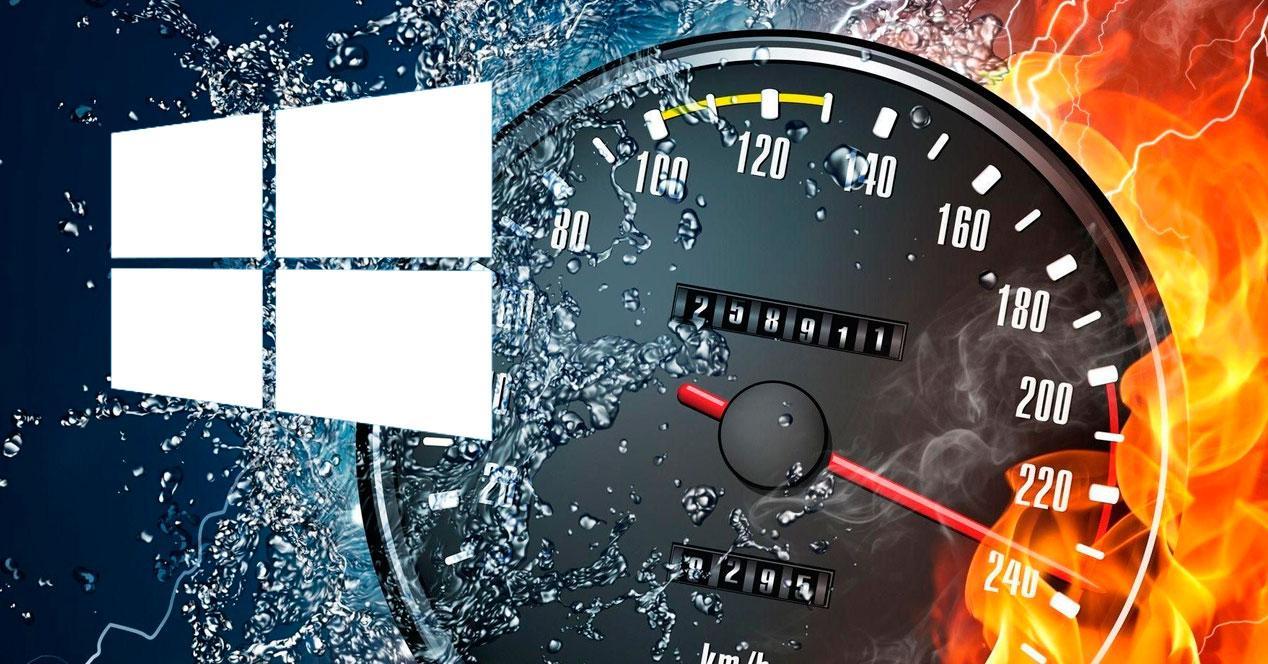 Aumentar velocidad Windows 10