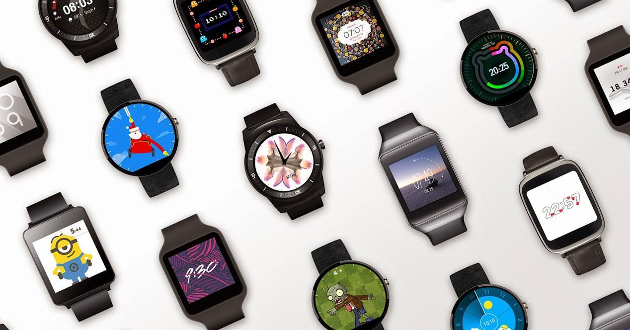 Varios smartwatch