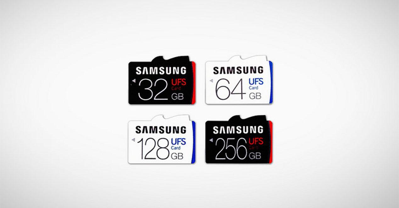 tarjetas microsd samsung ufs portada