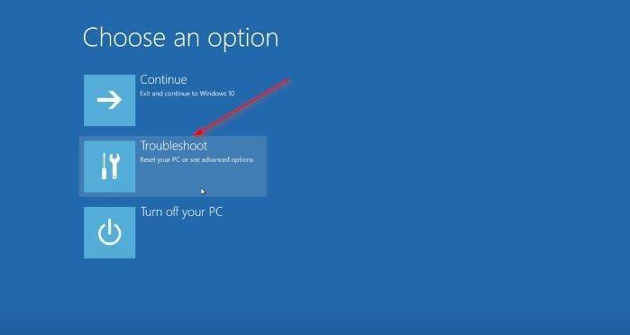 UEFI Windows 10