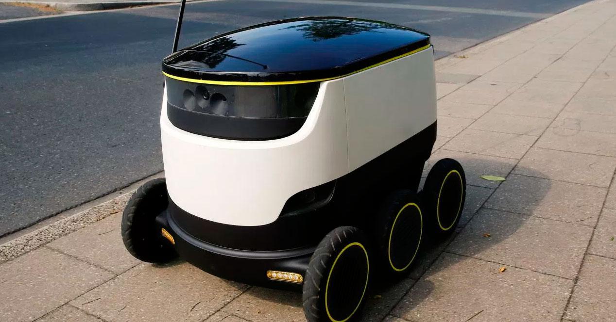 Robots para reparto en Europa