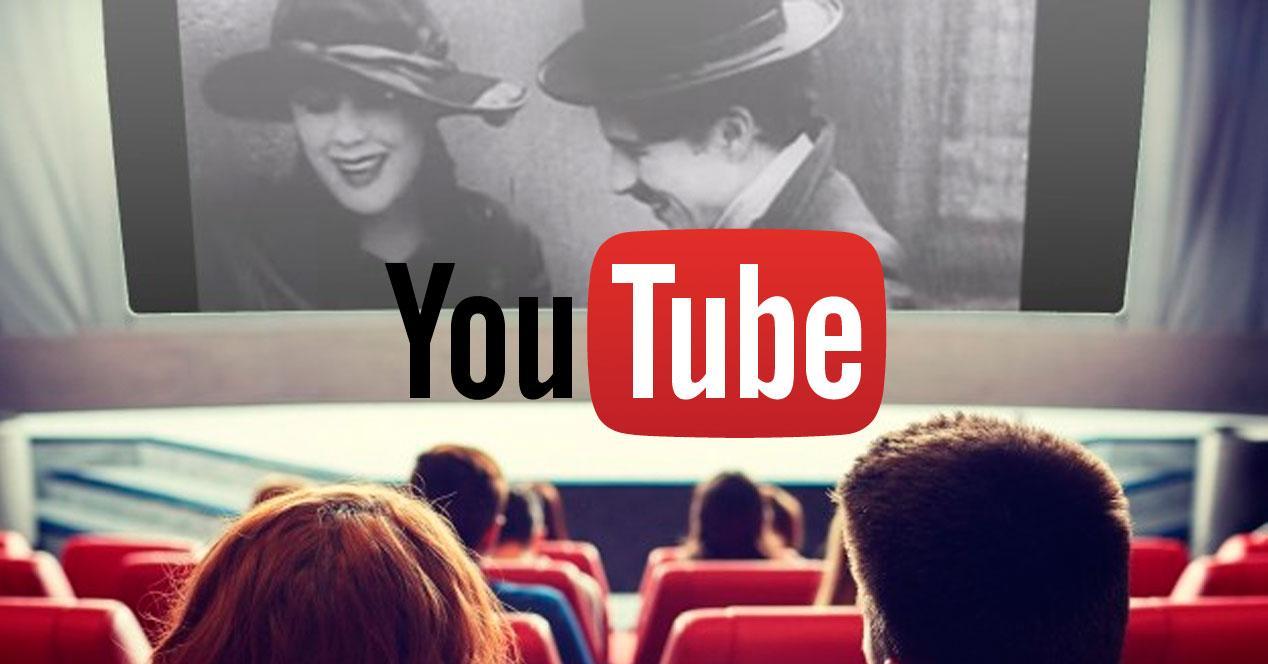 Películas antiguas gratis en YouTbe