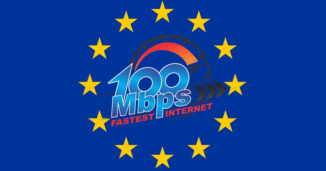 conexiones de 100 Mbps