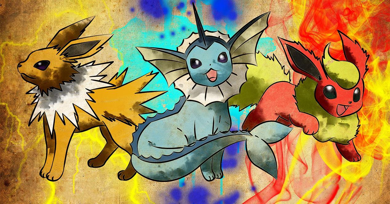 jolteon vaporeon flareon pokemon go