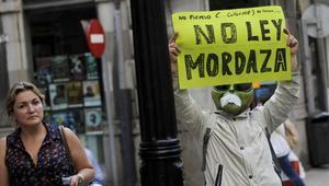 Ley Mordaza, cumple un año una de las normas más polémicas de nuestra historia