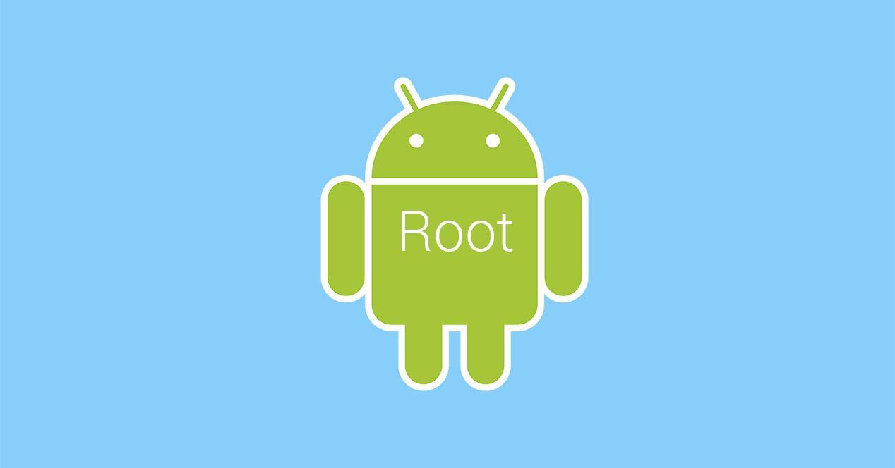 android root portada fondo azul