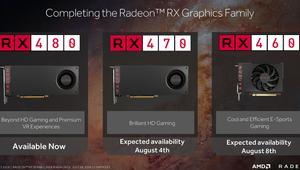 AMD desvela todos los detalles de la RX 470 y RX 460; buen rendimiento a precios bajos